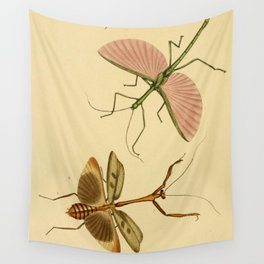 Naturalist Stick Bugs Wall Tapestry