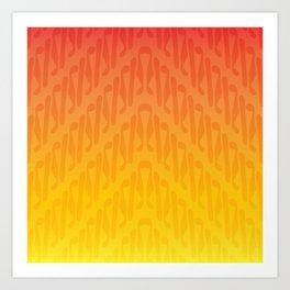 Parang Sunset (Batik) Art Print
