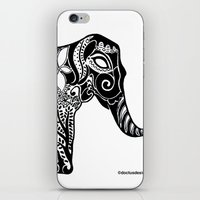 ganesh iPhone & iPod Skins featuring Ganesh by doctusdesign