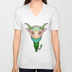 taurus zodiac sign Unisex V-Neck