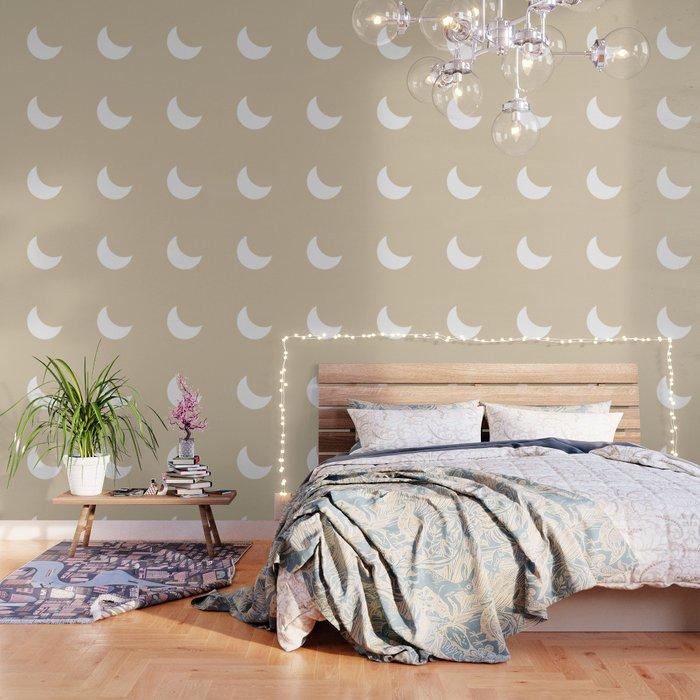 Moon #Minimal Wallpaper