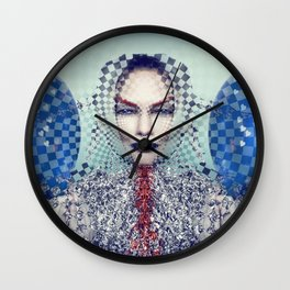 Festive Friday migraine Wall Clock