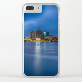Norfolk Skyline Clear iPhone Case