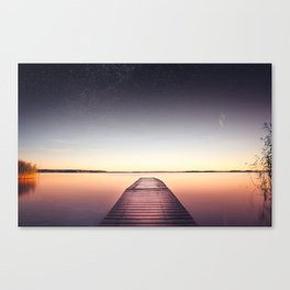 Skinny dip Canvas Print