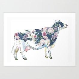 Rosie the Cow Art Print
