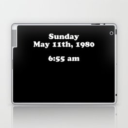 Sunday May 11th 1980 Laptop & iPad Skin