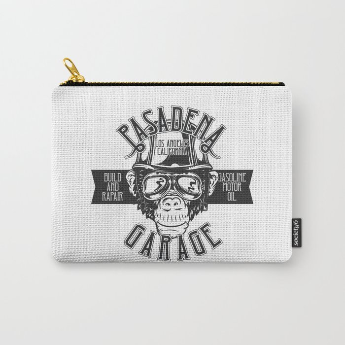 Pasadena Garage Carry-All Pouch