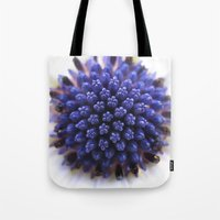 daisy Tote Bags featuring Daisy by Deborah Janke