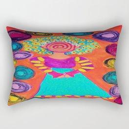 Spiralling Rectangular Pillow