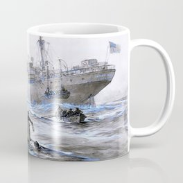 Sinking of the Linda Blanche out of Liverpool - Digital Remastered Edition Coffee Mug