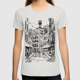Concrete Jungle (BW) T-shirt