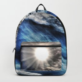 Ice Fire In The City Backpack