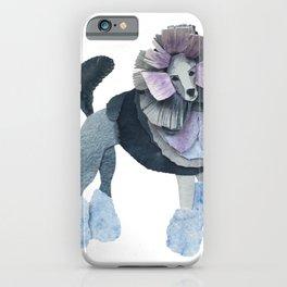 Posh Punk Poodle iPhone Case