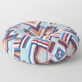 Herringbone Pattern No.2 Floor Pillow