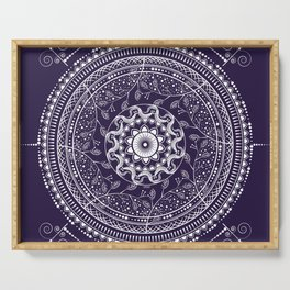 Indian Mandala Serving Tray