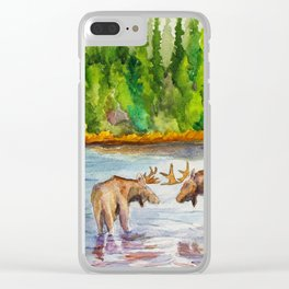 Isle Royale National Park Clear iPhone Case