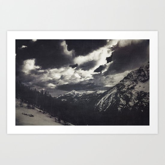 Cold Mountains Art Print