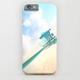 Tower on a Beach.  II iPhone Case