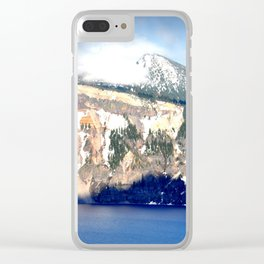 CRATER LAKE - OREGON Clear iPhone Case