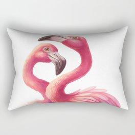 Pink flamingos Rectangular Pillow