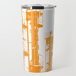 Factory Jump (orange) Travel Mug
