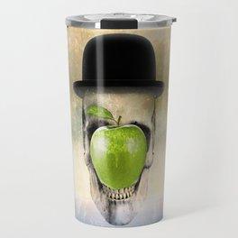Magritte Skull Travel Mug