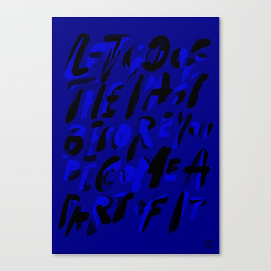 A PART OF IT Canvas Print