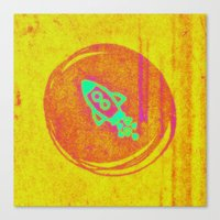 rocket Canvas Prints featuring  * Rocket * by Mr and Mrs Quirynen