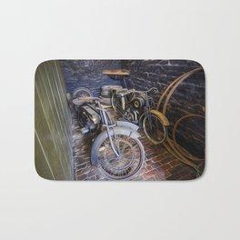 1920s Motorcycles Bath Mat