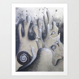 Snail City Art Print