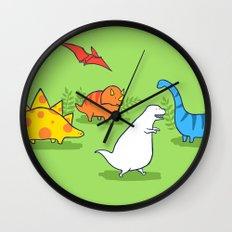 Albinosaur Wall Clock