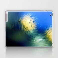 Condensation 34 - Vortex | Cyan Laptop & iPad Skin