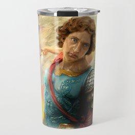 Saint Michael the Archangel Travel Mug