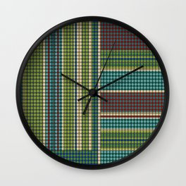 Green vintage Wall Clock