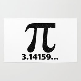 Pi 3.14159 Rug