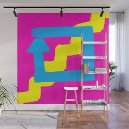 4 in out 4 in out Wall Mural