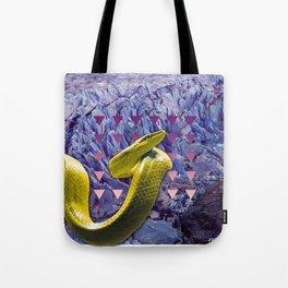 Glaciar Snake from #popllage Tote Bag