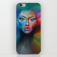 psychedelic iPhone & iPod Skins featuring Psychedelic  by Halinka H