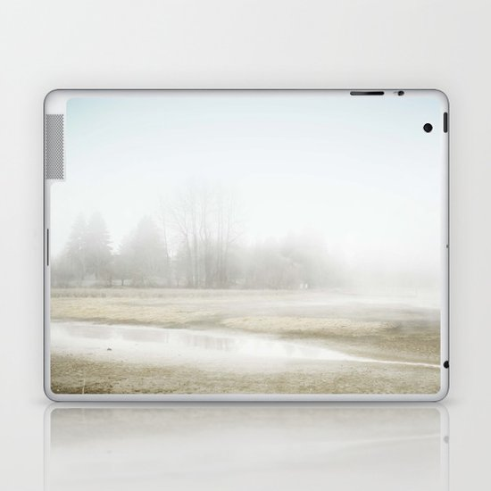 Mysterious Treeline Laptop & iPad Skin