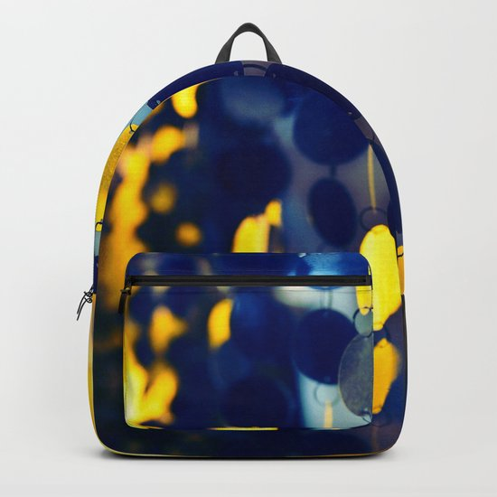 GLAM CIRCLES #Blue #1 Backpack