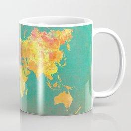 world map 103 #worldmap #map Coffee Mug
