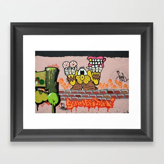 Summerjam Framed Art Print