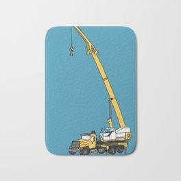 Crane Truck Bath Mat