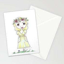 Vintage Gal ~ Vintage At Heart Stationery Cards