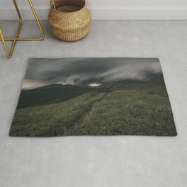 A Storm is Coming - Landscape and Nature Photography Rug