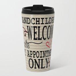 Grandchildren Welcome Travel Mug