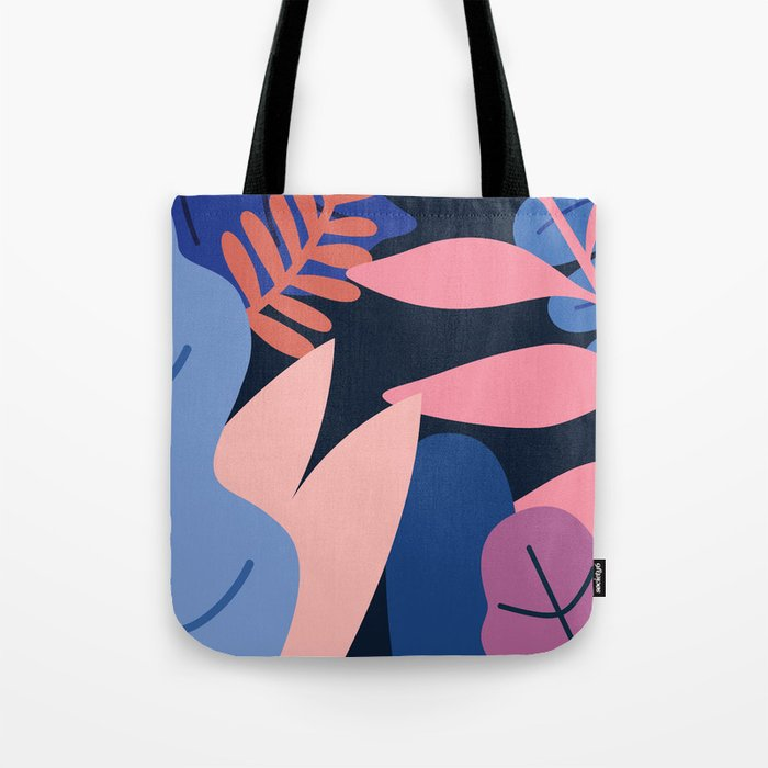 Colored Leaves Tote Bag