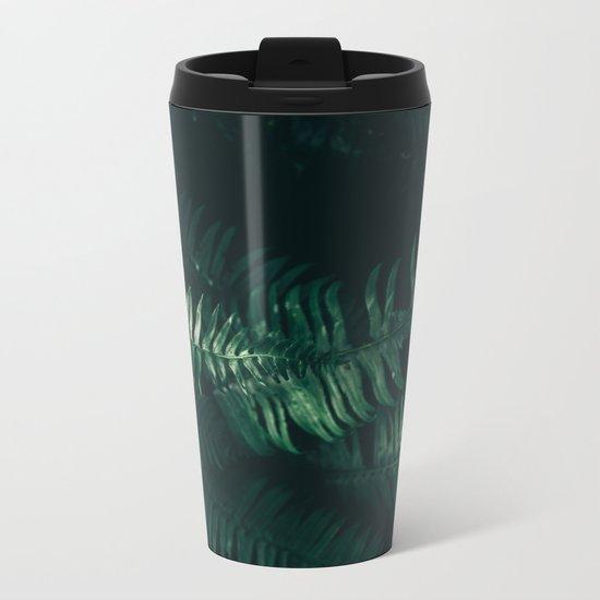 Ferns III Metal Travel Mug