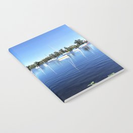 Sailboats on the Shore Notebook