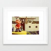 popeye Framed Art Prints featuring Popeye by Teodoru Badiu